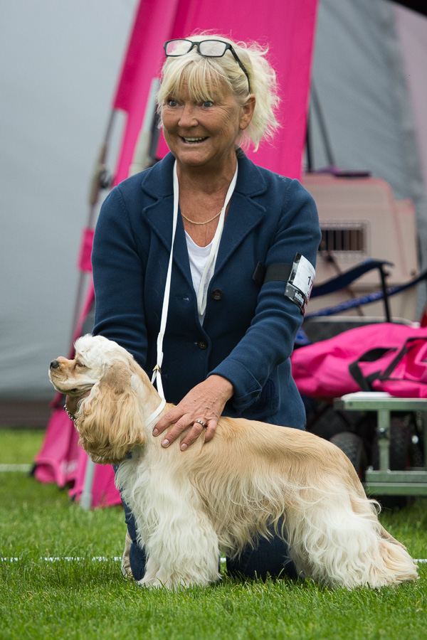 Wilma and her owner Monica Clefjord.